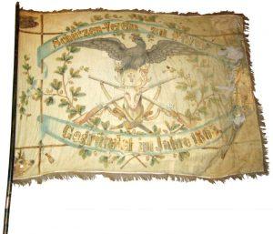 1. Fahne des Schützenverein aus dem Jahre 1865